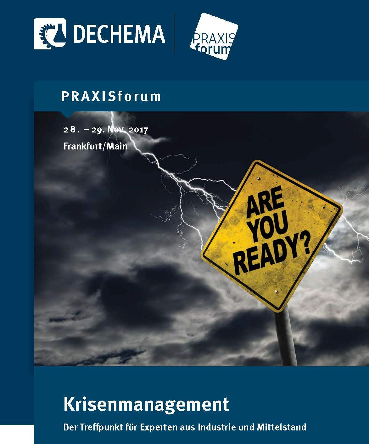 PRAXISforum Krisenmanagement 2019
